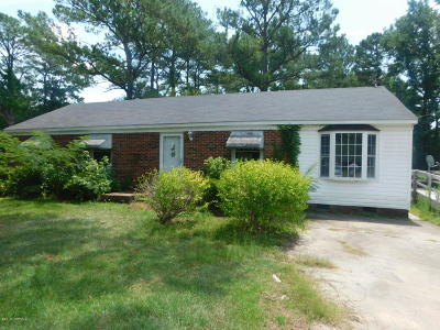 Edgecombe County Single Family Home For Sale: 234 Langley Circle