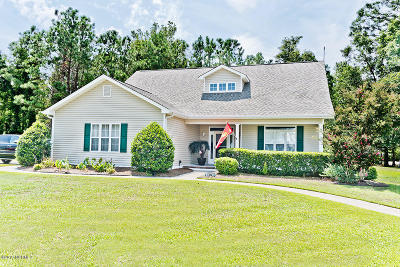 Morehead City Single Family Home For Sale: 212 Carefree Lane