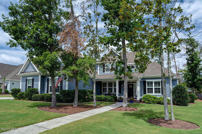 New Hanover County Single Family Home For Sale: 7433 Songbird Court