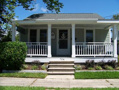 Morehead City Single Family Home For Sale: 704 Fisher Street