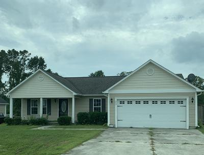 Richlands Single Family Home Active Contingent: 202 Cottage Brook Court