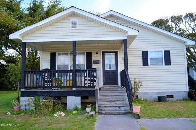 Beaufort NC Single Family Home For Sale: $230,000