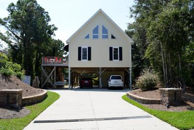 Single Family Home For Sale: 9413 Coast Guard Road