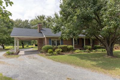 Greenville Single Family Home For Sale: 2021 Holland Road