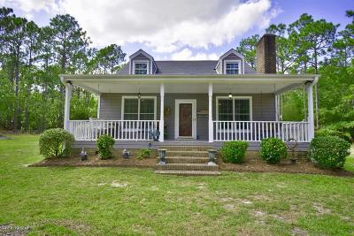 Southport Single Family Home For Sale: 5980 Village Drive SE