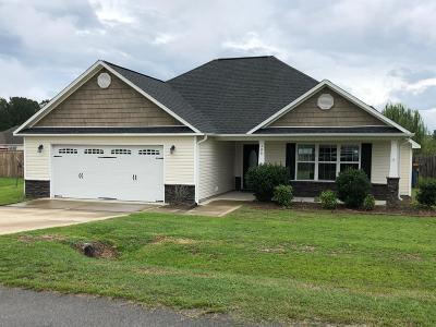 Richlands Single Family Home Active Contingent: 300 Cadenza Lane