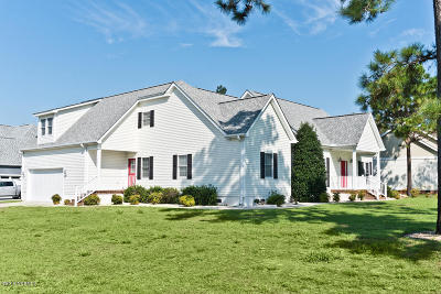 Newport Single Family Home For Sale: 204 Cedar Key Way