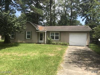 Onslow County Single Family Home For Sale: 308 Luann Road