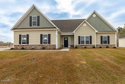 New Bern NC Single Family Home For Sale: $248,800