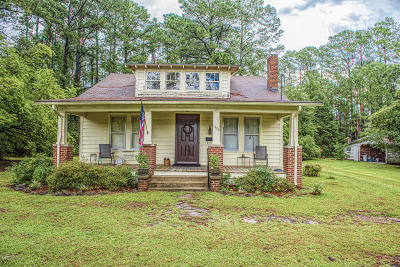 New Bern NC Single Family Home For Sale: $135,000