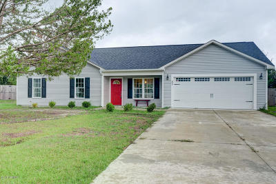 Onslow County Single Family Home For Sale: 50 Riegel Drive