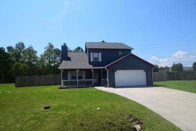 Onslow County Single Family Home For Sale: 317 Rack Lane