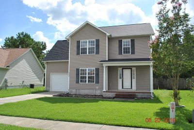Onslow County Single Family Home For Sale: 339 Providence Drive