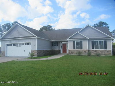 Holly Ridge Single Family Home For Sale: 187 Windfield Lane