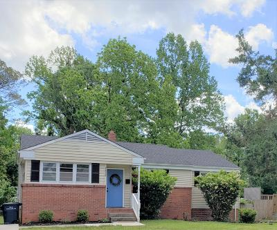 Onslow County Single Family Home For Sale: 1018 River Street