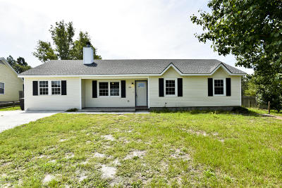 Onslow County Single Family Home For Sale: 307 Timber Ridge Drive