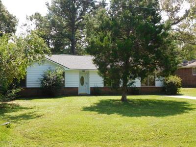 Castle Hayne Single Family Home For Sale: 510 Millhouse Road