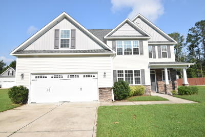 New Bern Single Family Home For Sale: 222 Easterly Drive