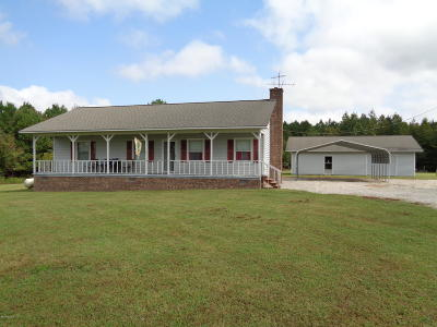Edgecombe County Single Family Home For Sale: 1025 Red Hill Church Road