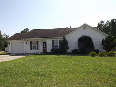 Shallotte Single Family Home For Sale: 4382 Owendon Drive