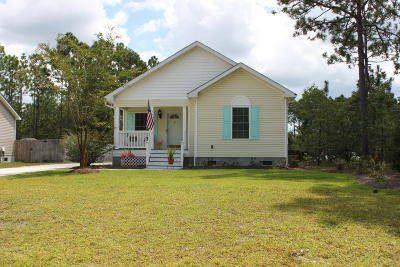 Southport Single Family Home For Sale: 524 Greenmoss Road
