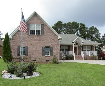 New Bern Single Family Home For Sale: 1207 Pelican Drive