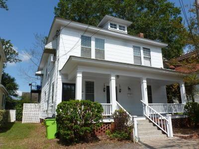 New Bern Single Family Home For Sale: 206 King Street
