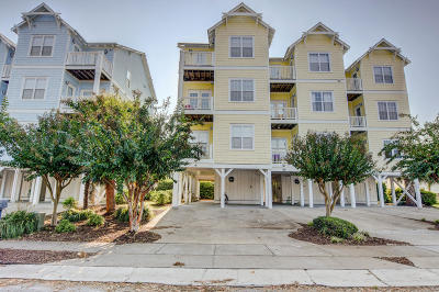 Carolina Beach Condo/Townhouse For Sale: 807 S Third Street
