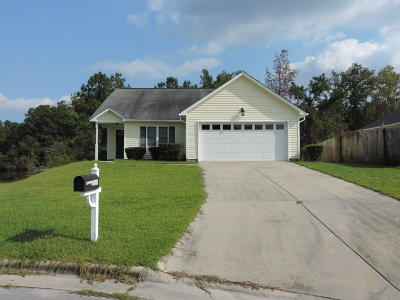 New Bern NC Single Family Home For Sale: $118,000