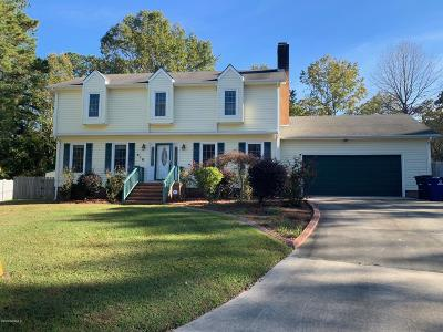 Jacksonville Single Family Home For Sale: 618 Clover Drive