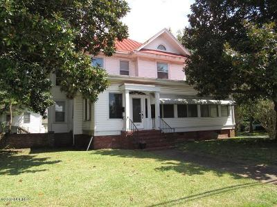 New Bern NC Single Family Home For Sale: $178,000