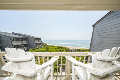 Pine Knoll Shores Condo/Townhouse For Sale: 545 Salter Path Road #A-3