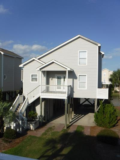 Ocean Isle Beach Single Family Home For Sale: 20 Channel Drive