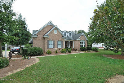 Rocky Mount Single Family Home For Sale: 1547 Fountain Branch Road