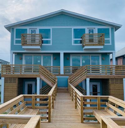 Kure Beach Condo/Townhouse For Sale: 1008 Fort Fisher Boulevard N #1 &