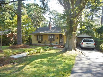 Nash County Single Family Home For Sale: 832 West Haven Boulevard