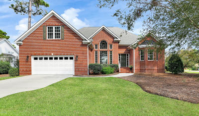 Southport Single Family Home For Sale: 2912 Trailwood Drive SE
