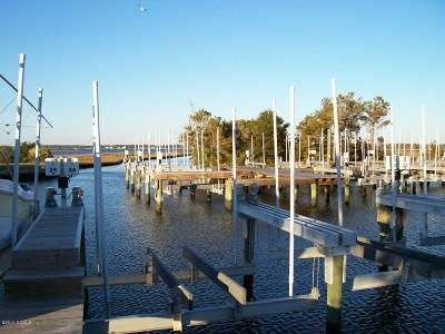 Harkers Island Boat Slip For Sale: 245 Bayview Drive