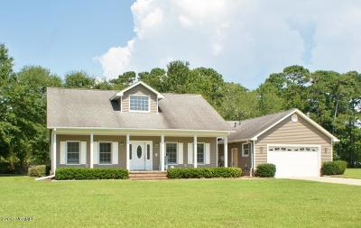 Morehead City Single Family Home For Sale: 1901 Snowy Egret Drive