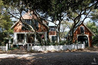 Bald Head Island Single Family Home For Sale: 621 Currituck Way