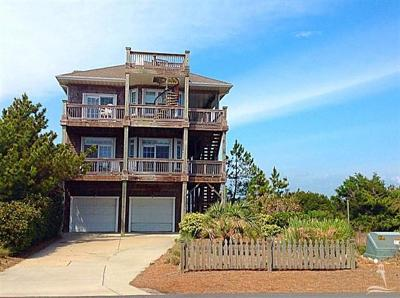 Oak Island Single Family Home For Sale: 6002 W Beach Drive