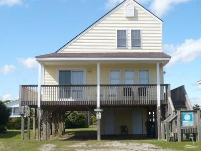 Oak Island Single Family Home Sold: 2510 E Beach Drive