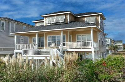Holden Beach Single Family Home For Sale: 271 Ocean Boulevard W