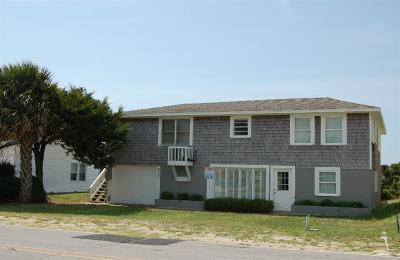Holden Beach Single Family Home For Sale: 937 Ocean Boulevard W