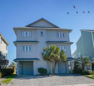 Ocean Isle Beach Single Family Home For Sale: 116 E First Street