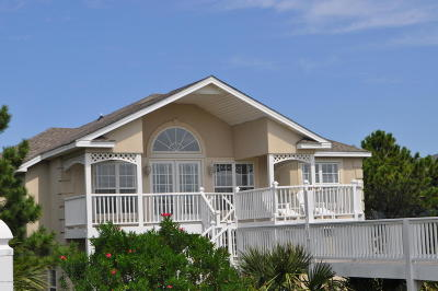 Ocean Isle Beach Single Family Home For Sale: 203 W First Street