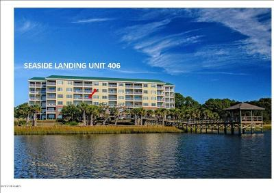 Ocean Isle Beach Condo/Townhouse For Sale: 7265 Seashell Lane SW #406