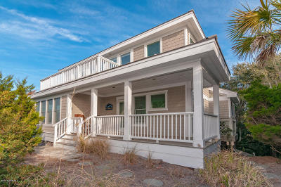 Bald Head Island Single Family Home For Sale: 19 Indian Blanket Court