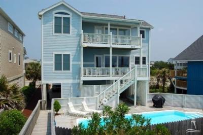 Holden Beach Single Family Home For Sale: 211 Ocean Boulevard W
