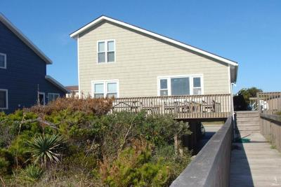 Holden Beach Single Family Home For Sale: 155 Ocean Boulevard W